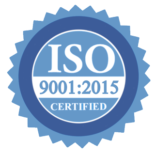 Verified certificate ISO 9001:2015